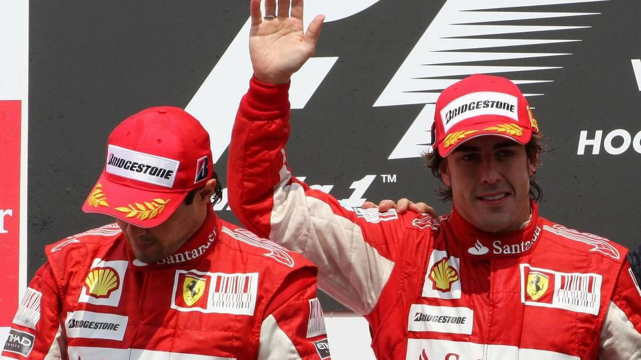 Felipe Massa (BRA), Scuderia Ferrari, Fernando Alonso (ESP), Scuderia Ferrari, German Grand Prix, 25.07.2010 Hockenheim, Germany