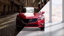 Mazda6 2018 y su antecesor