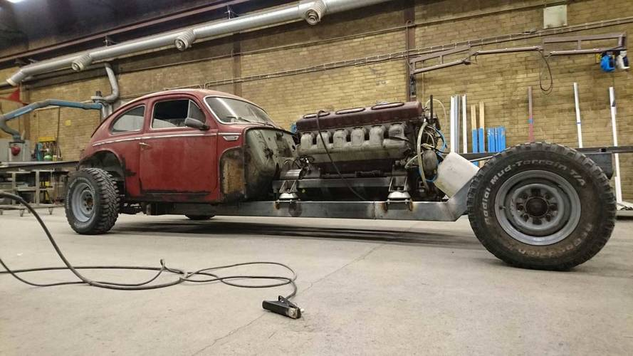 Bonkers Builder Gives Vintage Volvo A 38-Liter Tank Engine