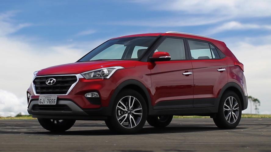 SUVs/crossovers compactos – Em primeiro mês cheio de vendas, Creta chega ao pódio