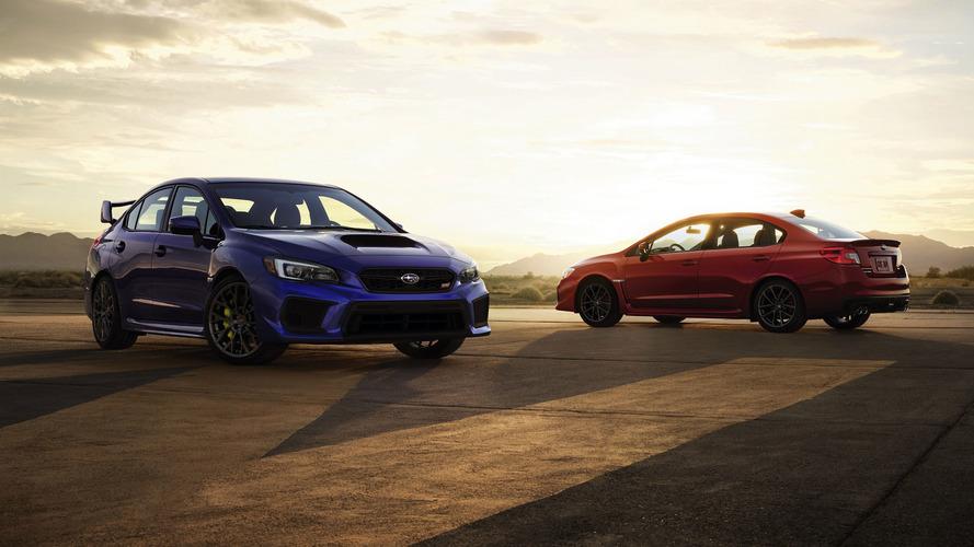 Subaru WRX 2018 and WRX STI
