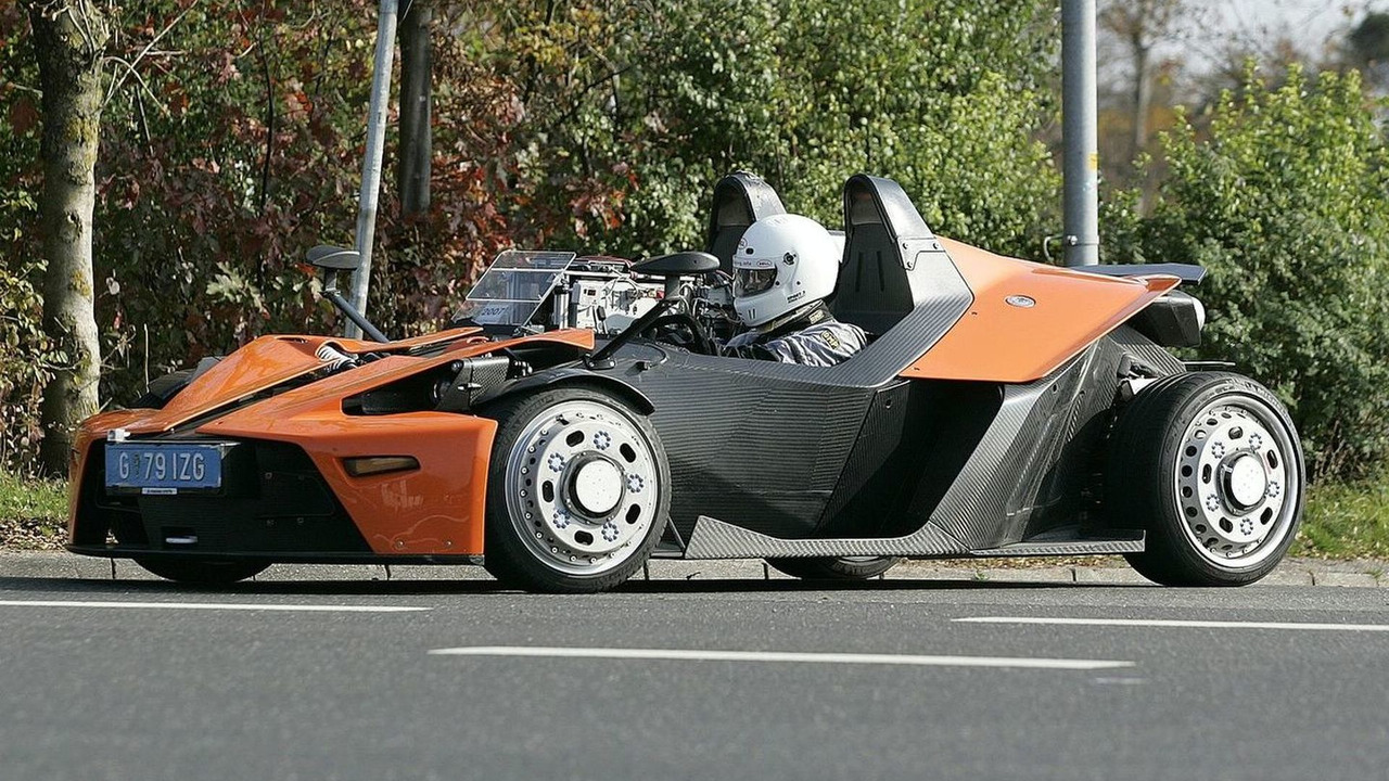 KTM X-Bow Spied