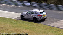 2019 Range Rover Velar SVR screenshot from spy video