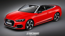 Audi RS5 Cabriolet render