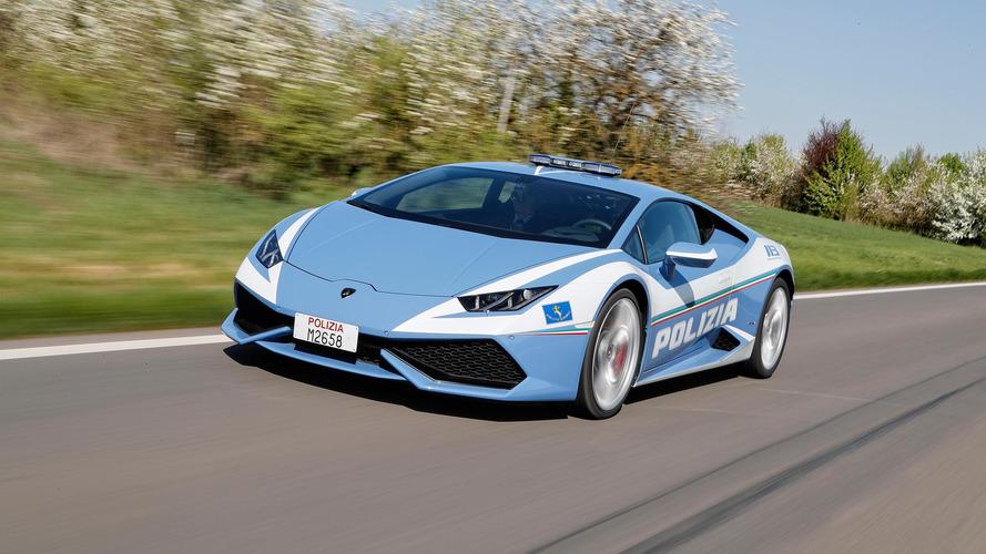 Italian Police gifted second supercar from Lamborghini