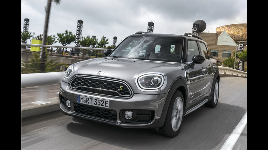 Mini Cooper S E Countryman All4 im Test