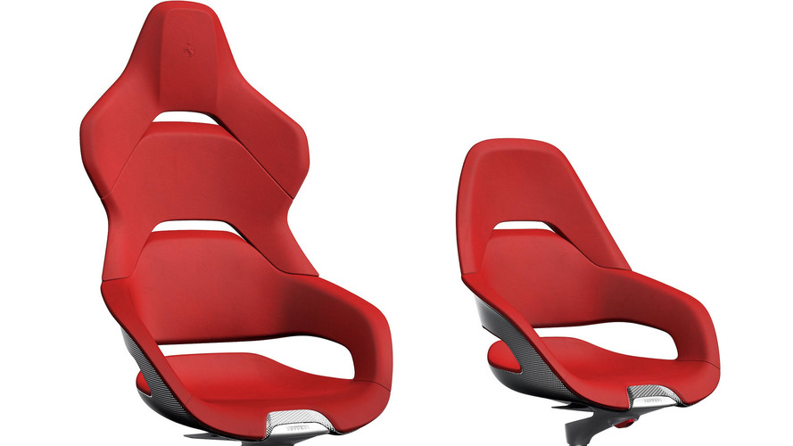 Ferrari Wants To Sell You A Racing Office Chair For £8,500