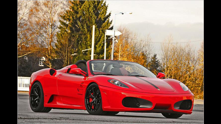 Wimmer-Leistungskit für den Ferrari F430 Scuderia