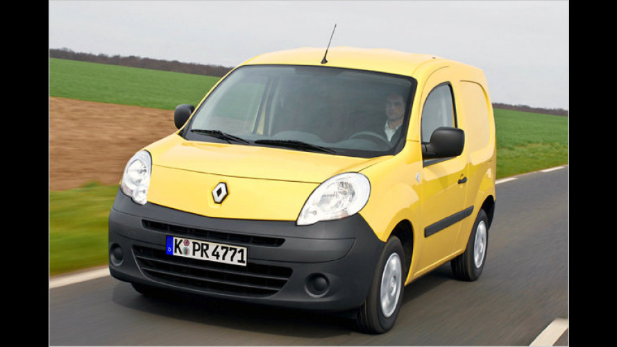 Neue Motoren für den Renault Kangoo Rapid