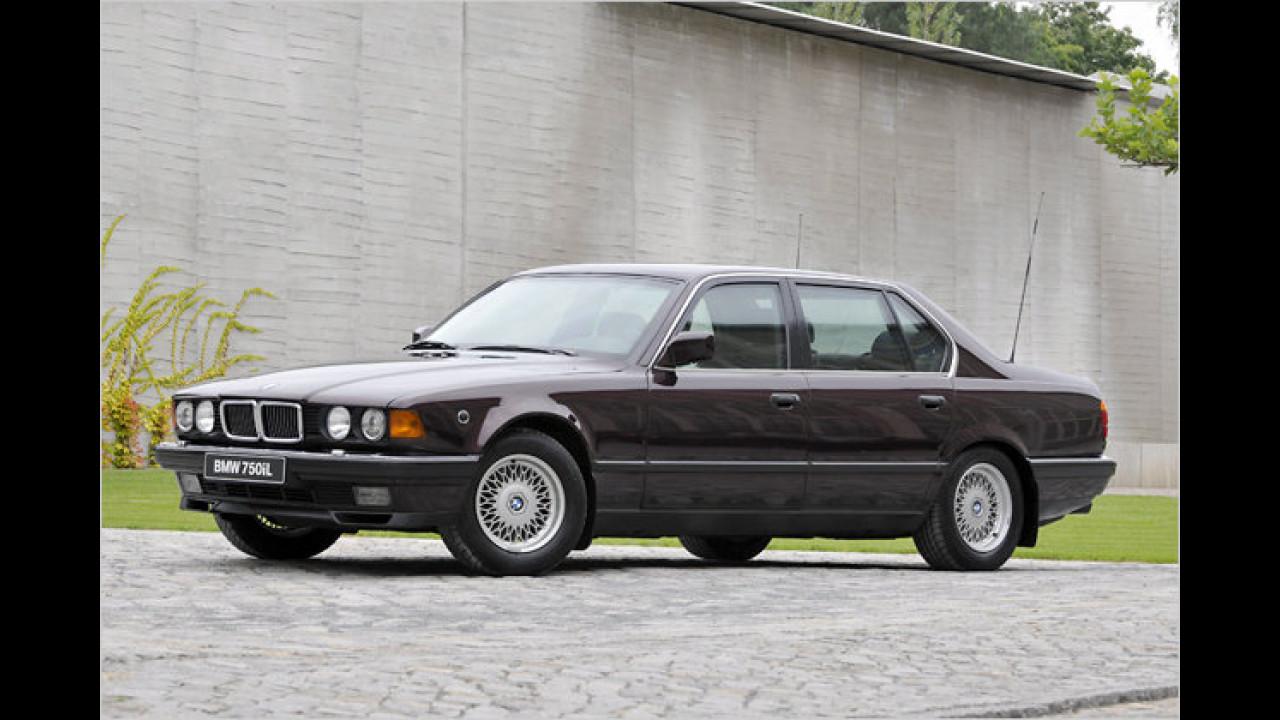 BMW 750 iL (E32) Security