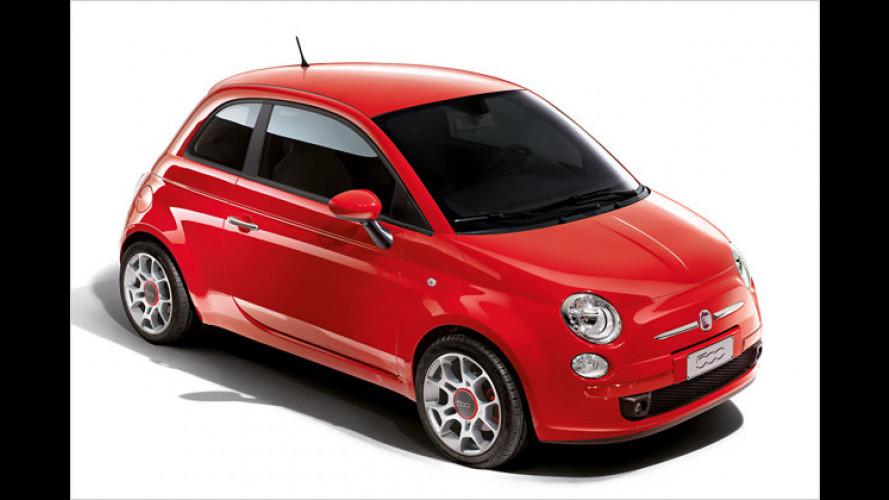 Sondermodell des 500: Ein Fiat mit dem Namen Corsa