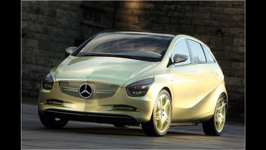 Saubere Sterne: So fährt Mercedes in die Zukunft
