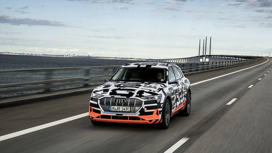 2019 Audi E-Tron'a daha yakından bakın