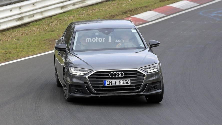 2019 Audi S8 casus fotoğraflar