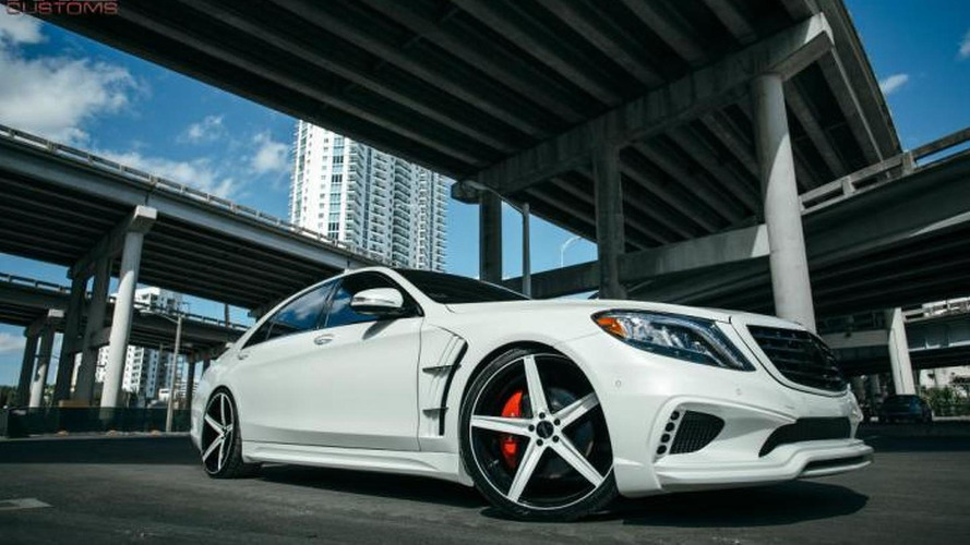 Mercedes-Benz S550 restyled by MC Customs [video]