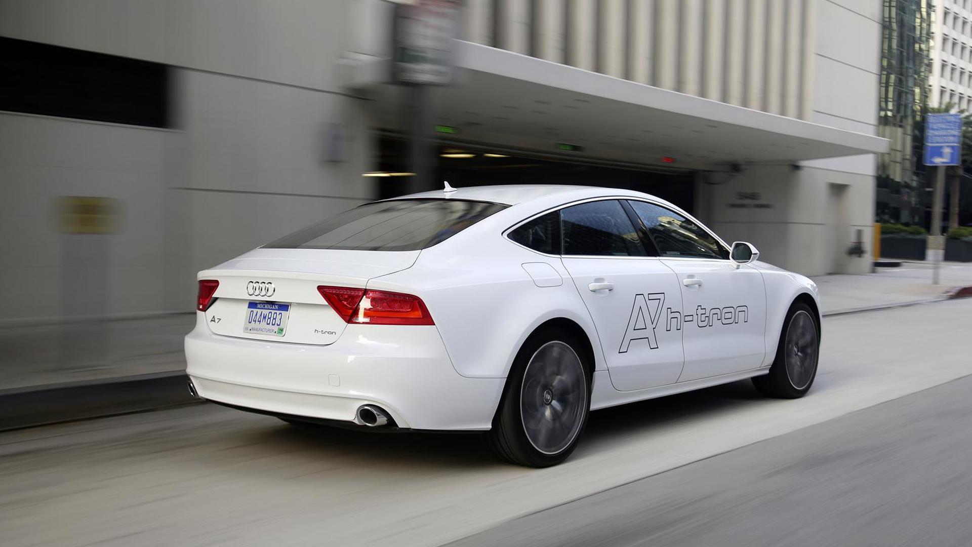 Водородный хэтчбек Audi A7 h-tron quattro