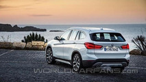 2016 BMW X1 leaked photo