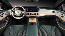 2014 Mercedes-Benz S600 Guard interior cabin tweaked by TopCar