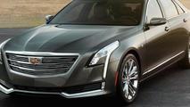 2016 Cadillac CT6 leaked photo