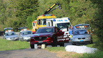 Scene of the accident, Martin Wittwer, Peugeot 205, ACS