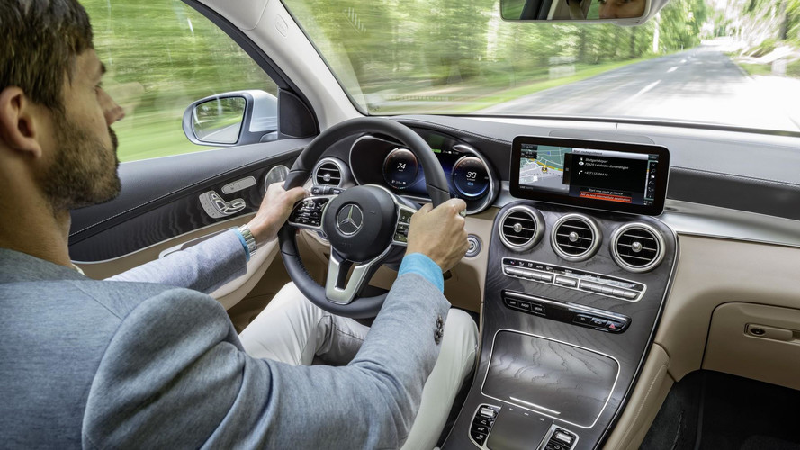 2018 Mercedes GLC F-Cell resmi fotoğraflar