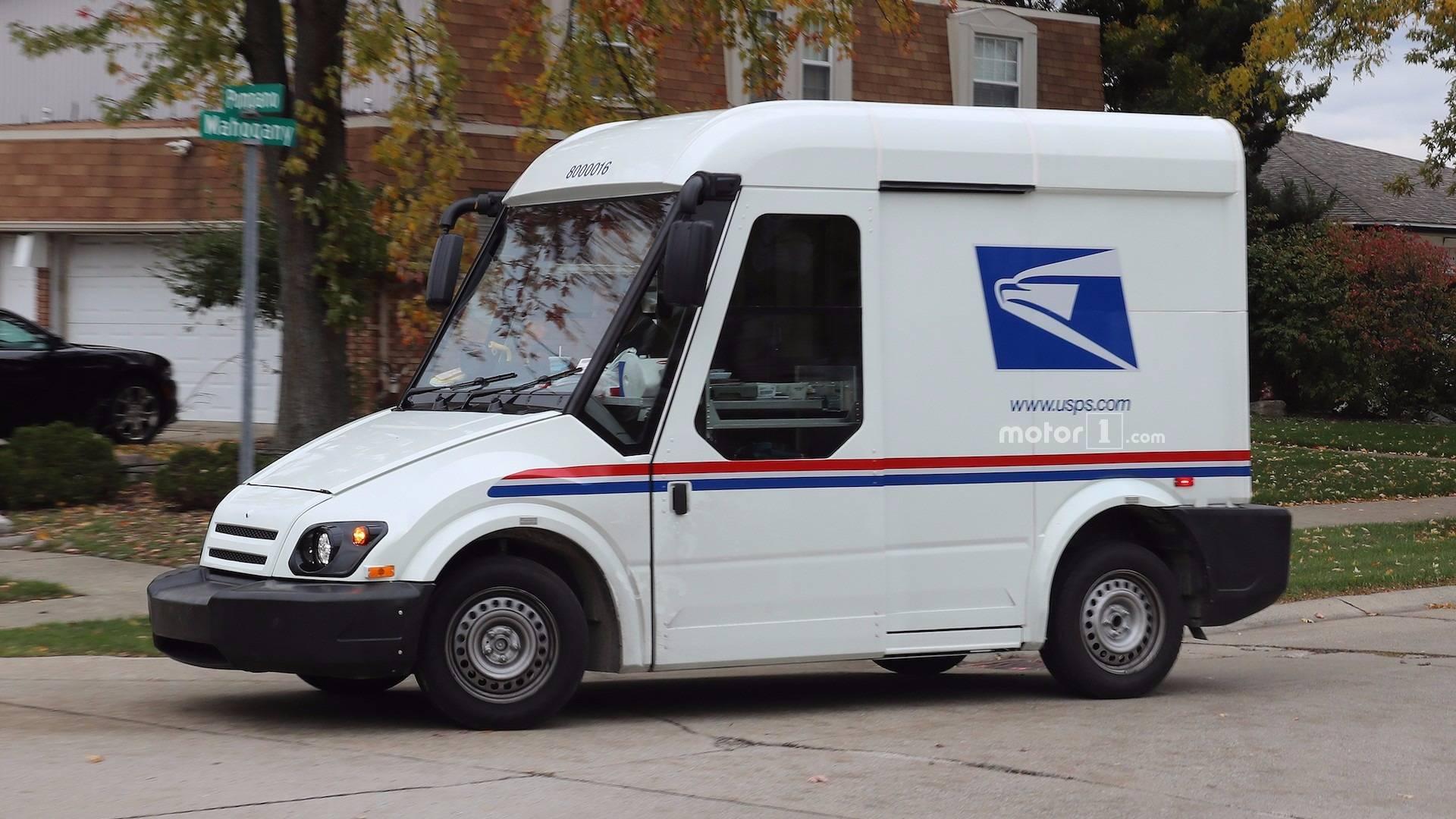 am general 39 s entry for next mail carrier spied testing. Black Bedroom Furniture Sets. Home Design Ideas