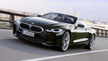 BMW 8 Serisi Coupe Rendering