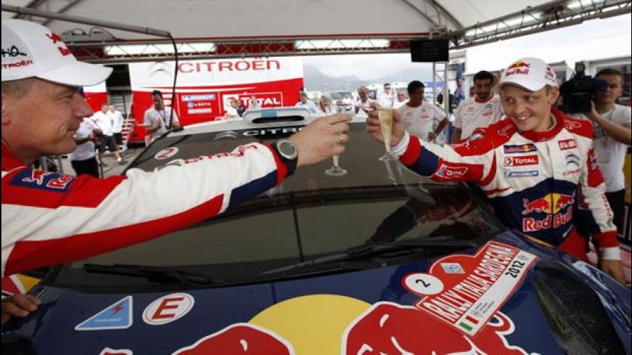 WRC: in Sardegna la prima vittoria iridata di Hirvonen