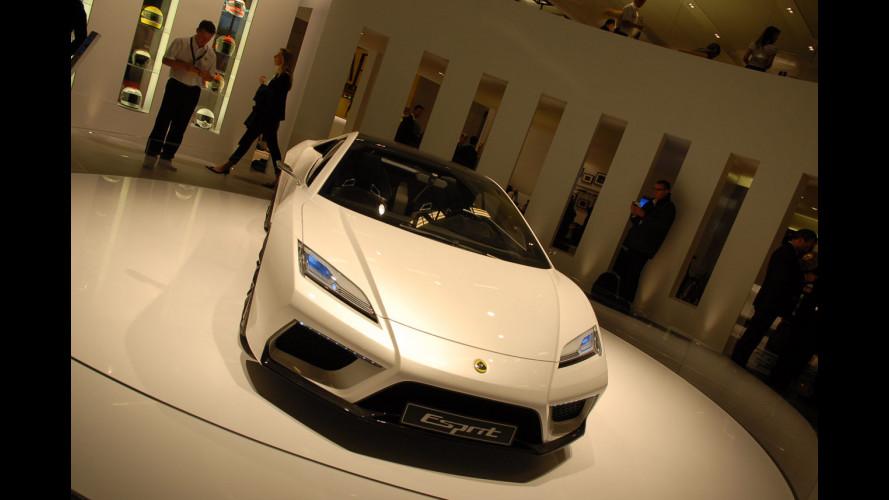 Lotus Esprit: in video è più veloce del suono