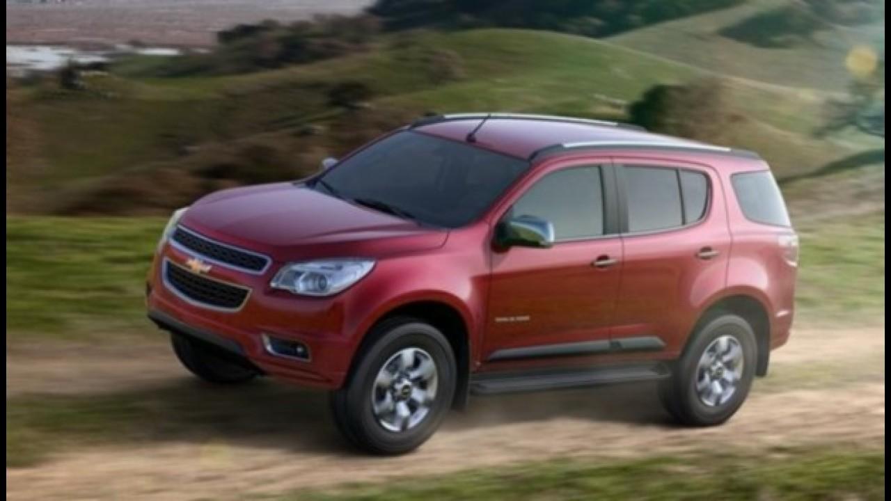 Conheça as primeiras imagens oficiais da nova Chevrolet Blazer