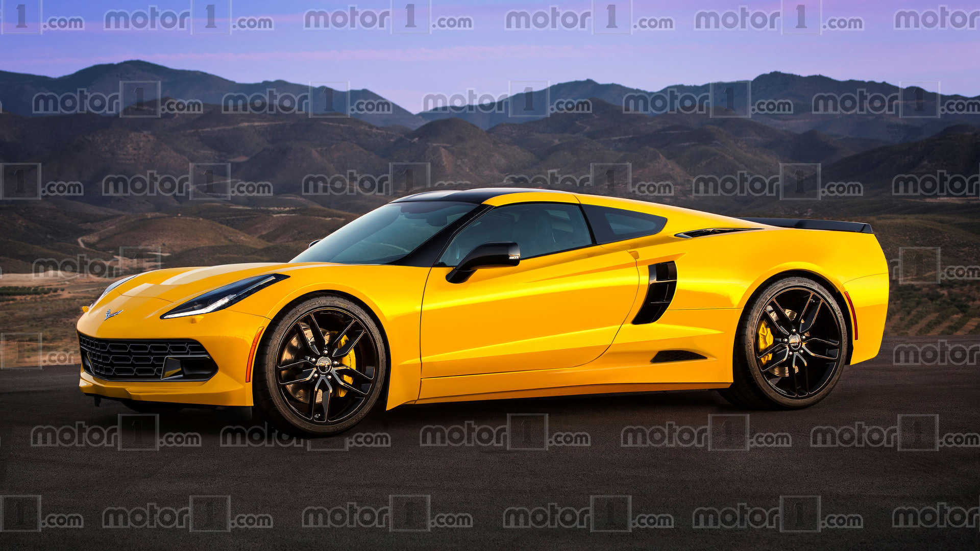 will the mid engine chevy corvette c8 look like this. Black Bedroom Furniture Sets. Home Design Ideas