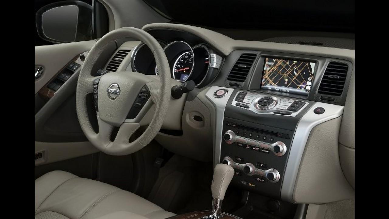 Nissan Murano 2011 ganha leve mudança visual e novo acabamento