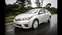 Toyota Corolla GLi perde rádio e rodas de liga leve na linha 2015