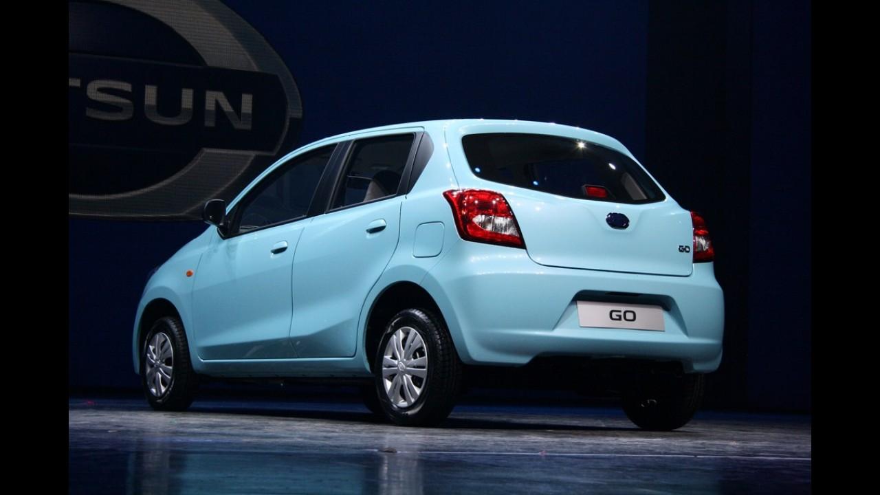 Cotada para o Brasil, Datsun inicia produção do hatch de baixo custo Go na Índia