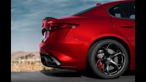 Alfa Romeo Giulia Quadrifoglio, la versione americana