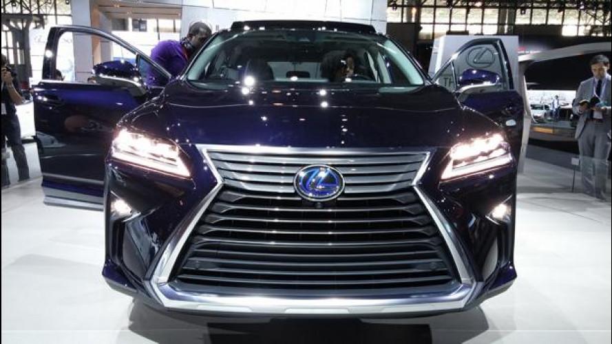 Salone di New York: Lexus RX, stavolta non serve stupire