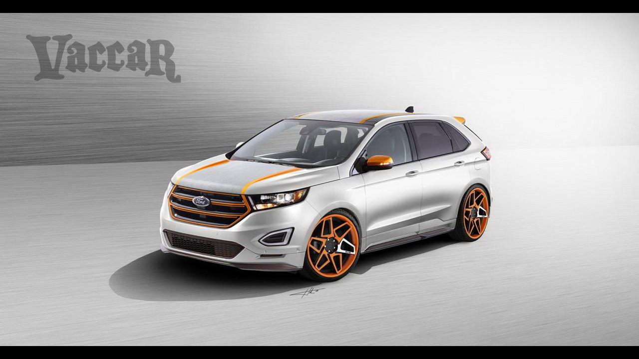 Ford Edge Sport al SEMA di Las Vegas