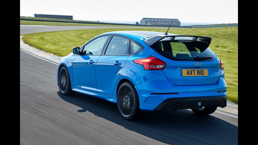Ford Focus RS, sempre più traversi