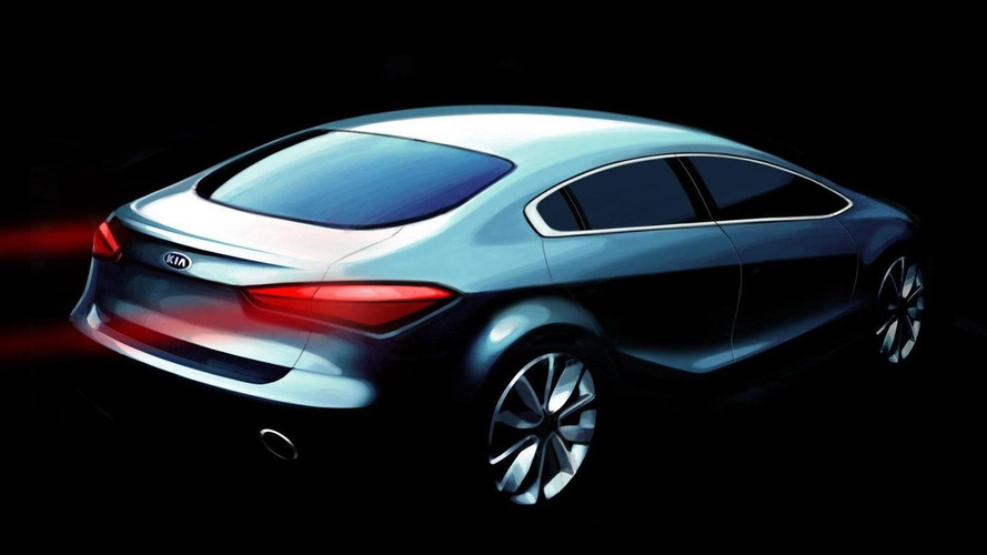 Next-gen 2014 Kia Forte / Cerato teaser renderings released