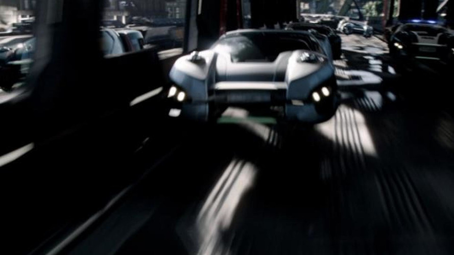 Total Recall movie previews 2084 Chrysler and Dodge hovercrafts