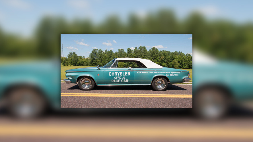 Own the actual Chrysler 300 pace car from the 1963 Indy 500