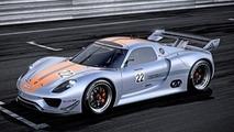 2011 Porsche 918 RSR concept