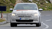 Skoda Fabia Combi facelift spy photos