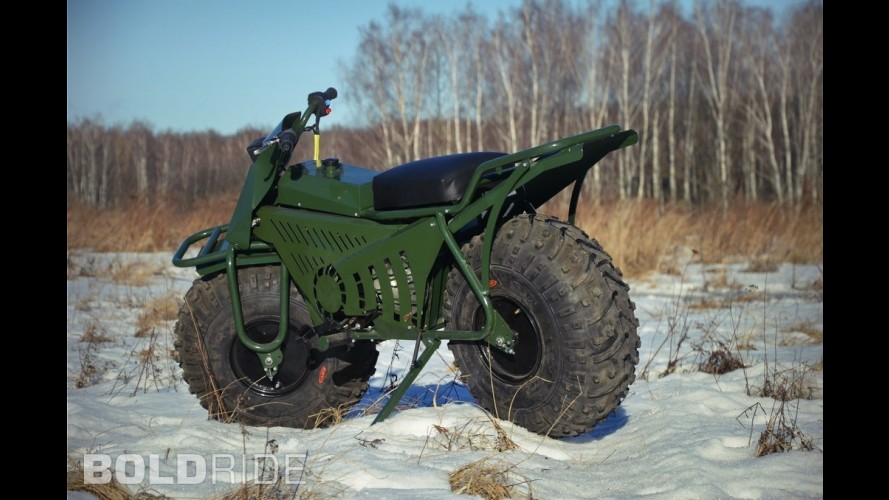 Taurus 2x2 Adventure Motorcycle
