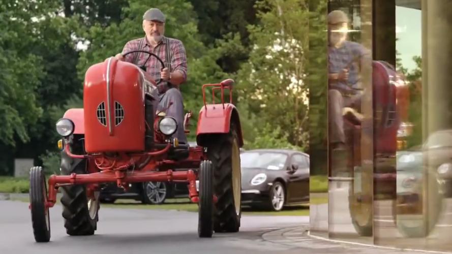 VIDÉO : Porsche ressort son vieux tracteur dans sa dernière pub