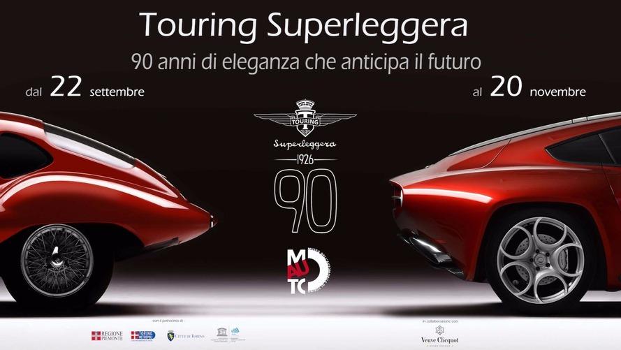 Touring Superleggera - Rétrospective pour les 90 ans du carrossier