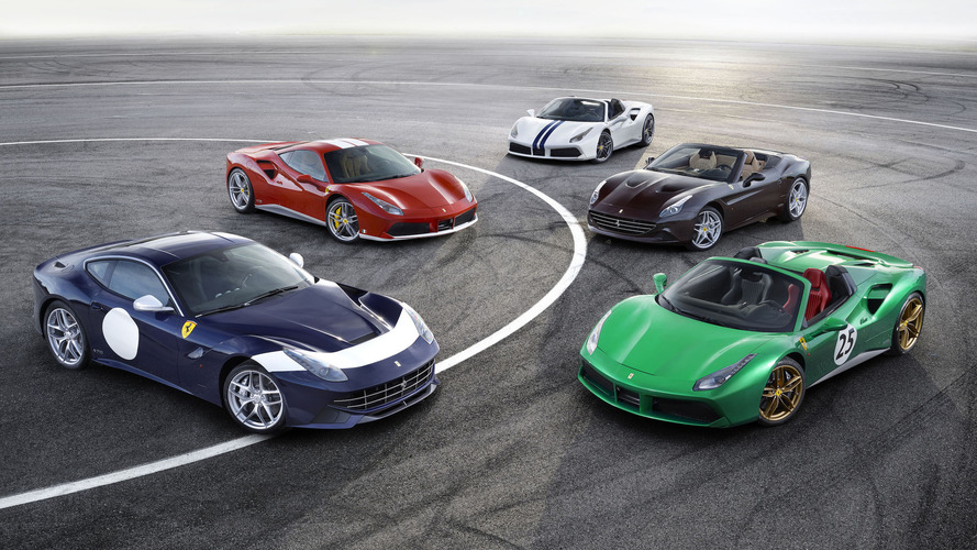 Ferrari reveals five special 70th anniversary liveries in Paris