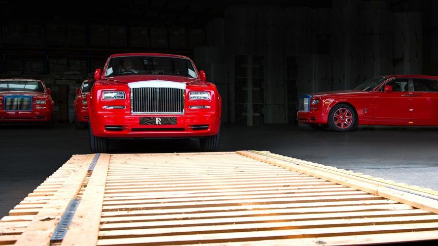 Rolls-Royce, 30 adetlik en büyük Phantom siparişini teslim etti