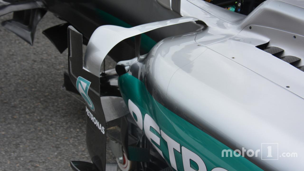 Mercedes AMG F1 W07 Hybrid detail