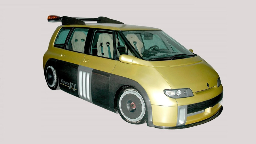 Concept We Forgot: 1994 Renault Espace F1